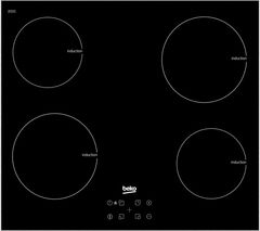 BEKO HXI64401ATX Electric Induction Hob - Black
