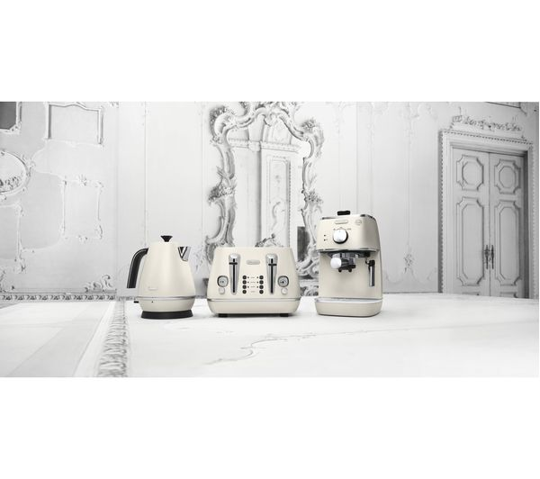 buy delonghi distinta eci341 w coffee machine white. Black Bedroom Furniture Sets. Home Design Ideas