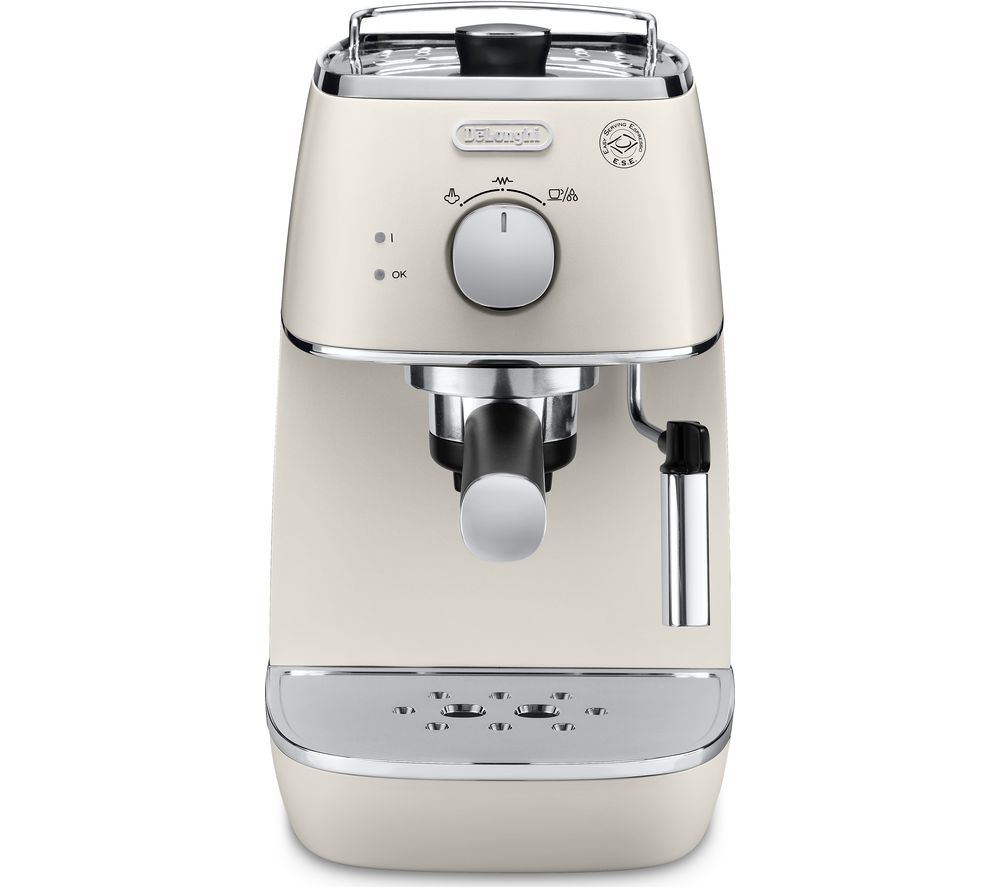 DELONGHI Distinta ECI341W Coffee Machine - White