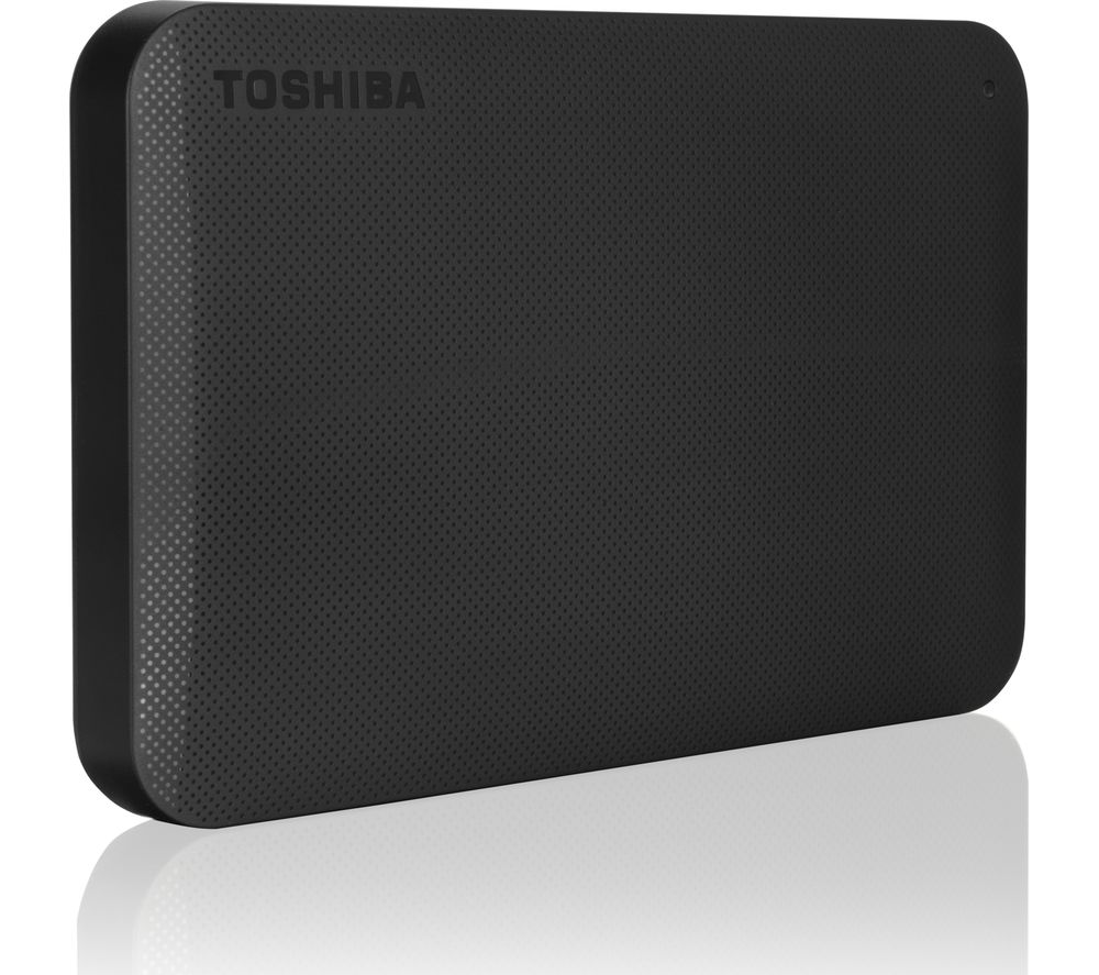 TOSHIBA  Canvio Ready Portable Hard Drive - 1 TB, Black, Black