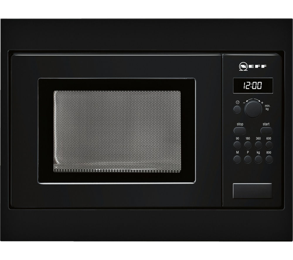 Neff H53w50s3gb Built In Solo Microwave Black