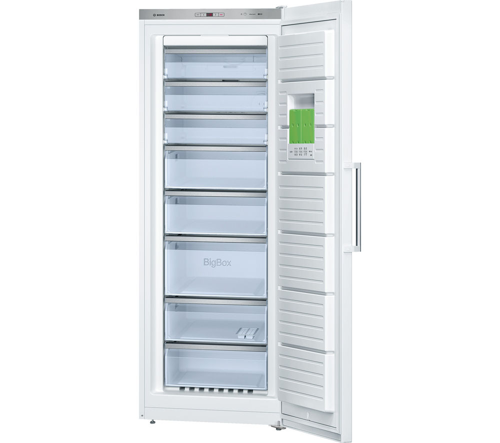Image of BOSCH Serie 6 GSN58AW30G Tall Freezer - White, White
