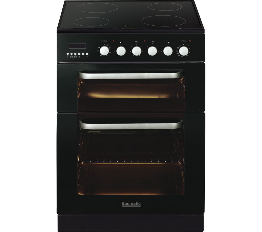 BAUMATIC BCE625BL Electric Ceramic Cooker - Black