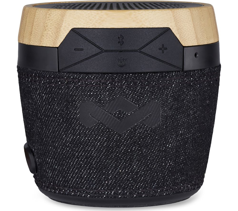 Image of House Of Marley Chant Mini Portable Bluetooth Speaker - Black, Black