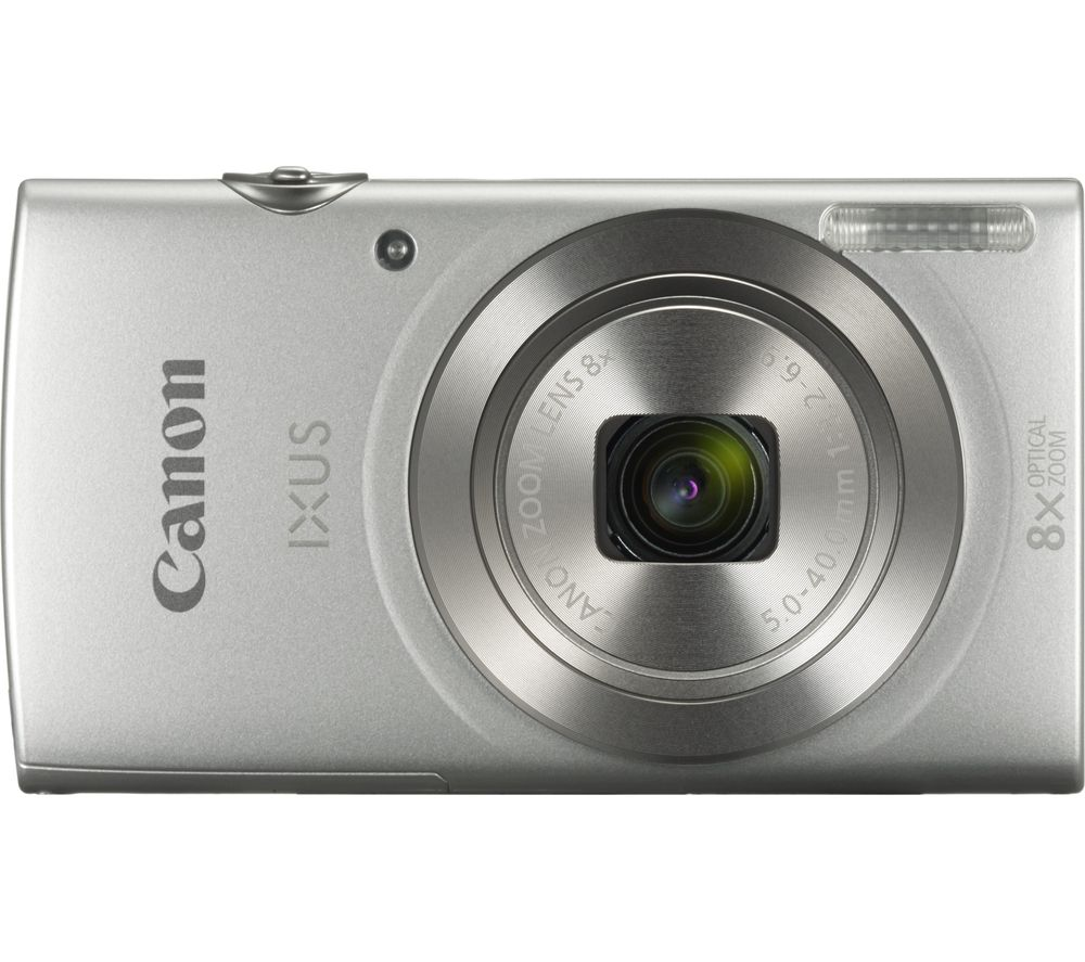 buy canon ixus 185 compact camera silver free delivery currys. Black Bedroom Furniture Sets. Home Design Ideas