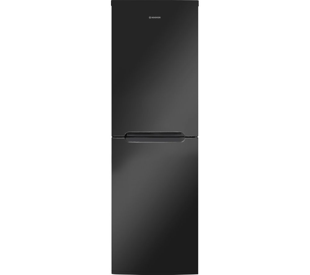 HOOVER HCN6182BK 50/50 Fridge Freezer - Black