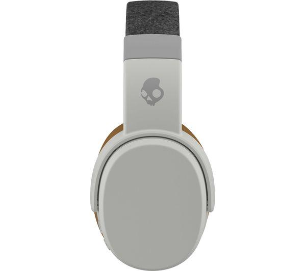 d670ed2bcdc SKULLCANDY Crusher S6CRW-K590 Wireless Bluetooth Headphones - Grey & Tan