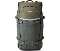LOWEPRO Flipside Trek BP 350 AW Camera Backpack - Grey & Dark Green