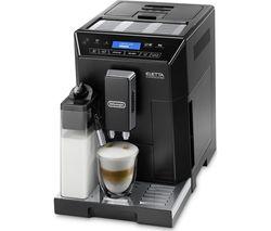 DELONGHI Eletta Cappuccino ECAM44.660.B Bean to Cup Coffee Machine - Black
