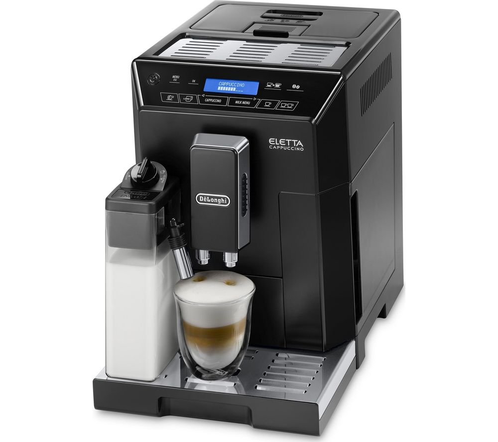 DELONGHI Eletta Cappuccino ECAM44.660.B Bean to Cup Coffee Machine - Black