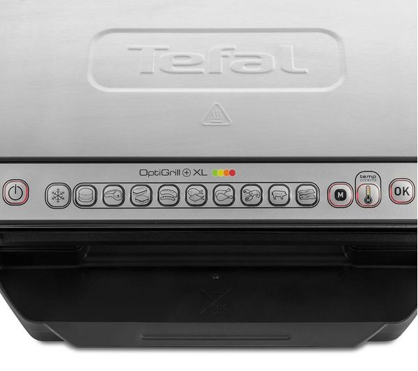 Buy Tefal Optigrill Xl Gc722d40 Grill Stainless Steel