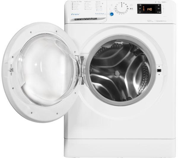 buy indesit innex bwe 91683x w 9 kg 1600 spin washing. Black Bedroom Furniture Sets. Home Design Ideas