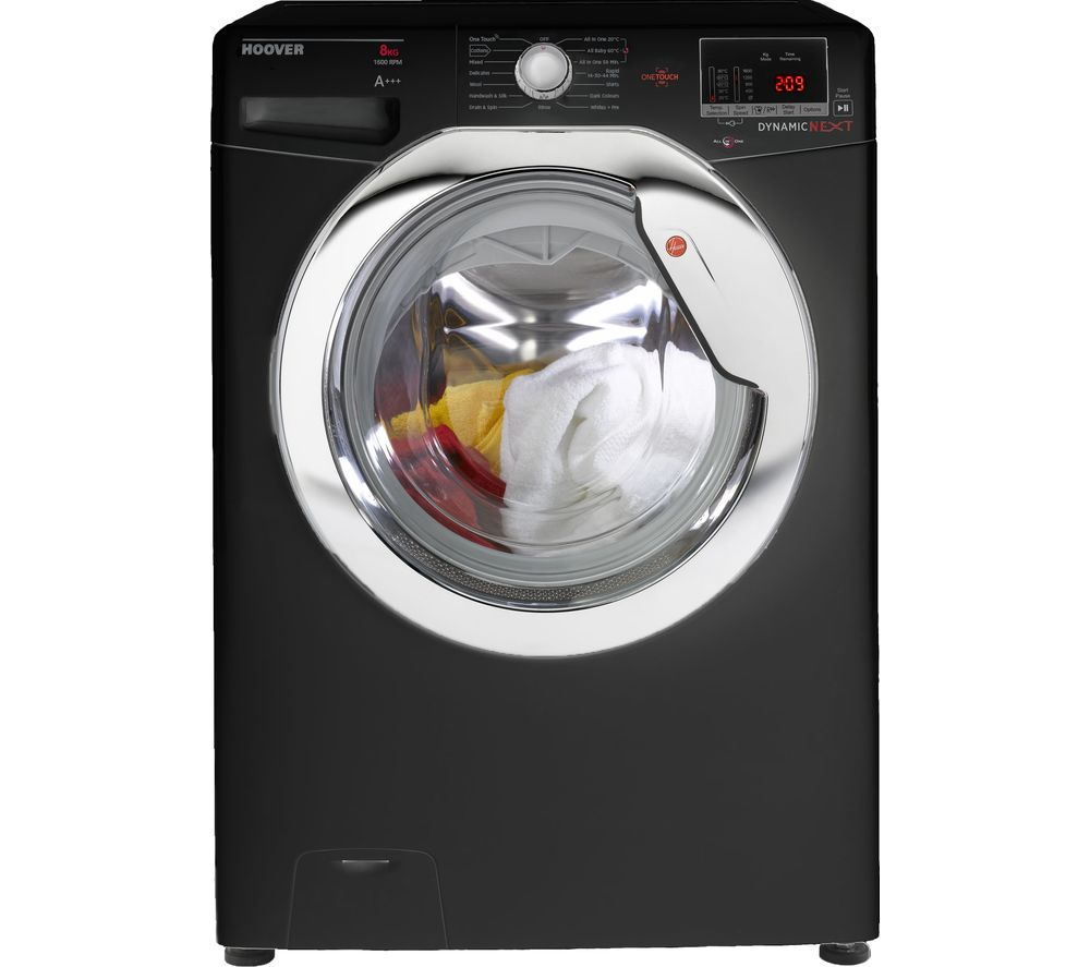 HOOVER DXOC 68AC3B NFC 8 kg 1600 Spin Washing Machine - Black