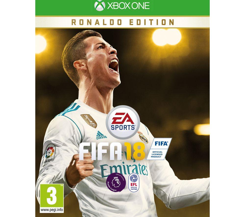 Image of MICROSOFT Xbox One FIFA 18 Ronaldo Edition