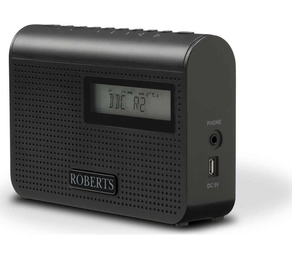 Compare retail prices of Roberts Play M2 Portable DAB Radio - Black to get the best deal online