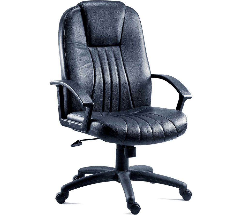 Compare prices for Teknik City 8099 Leather Faced Reclining Executive Chair