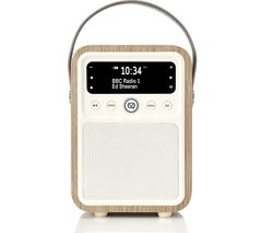 VQ Monty Portable DAB+/FM Bluetooth Radio - Green Grass Oak