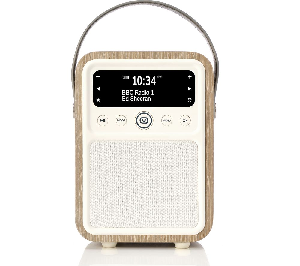 Compare prices for VQ Monty Portable DAB Bluetooth Clock Radio - Green