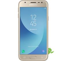 SAMSUNG Galaxy J3 2017 - 16 GB, Gold
