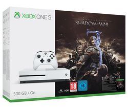 Image of MICROSOFT Xbox One S with Middle-earth: Shadow of War