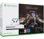 MICROSOFT Xbox One S with Middle-earth: Shadow of War