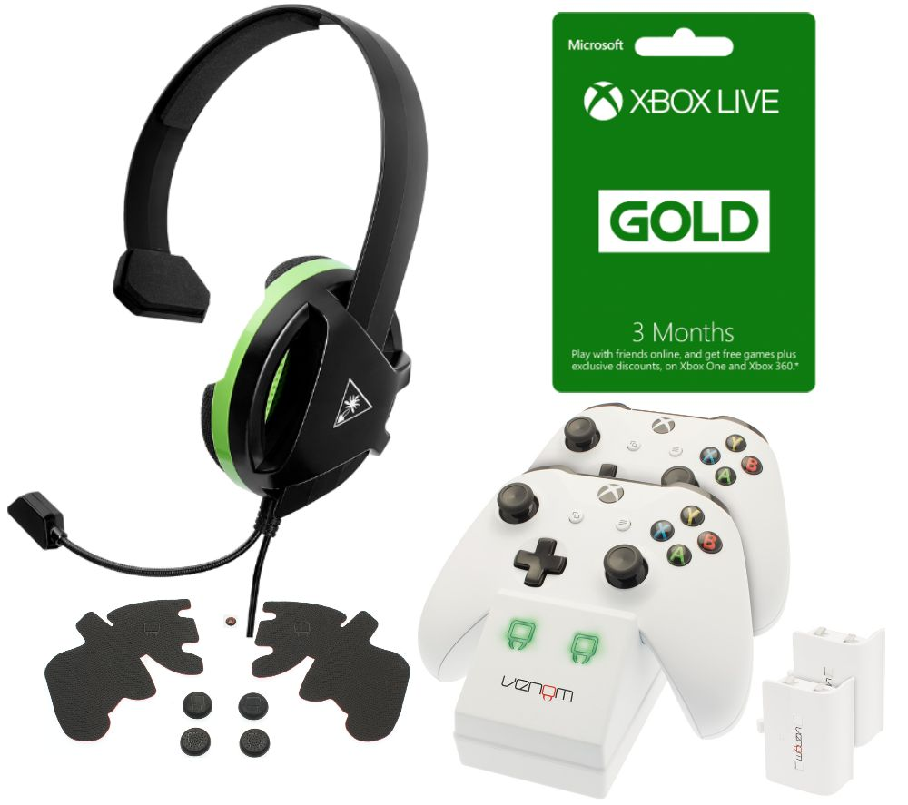 Buy TURTLE BEACH Recon Chat Gaming Headset with Accessory ...