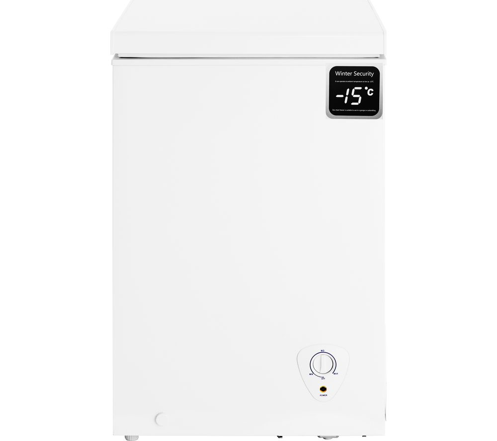 ESSENTIALS C97CFW18 Chest Freezer - White