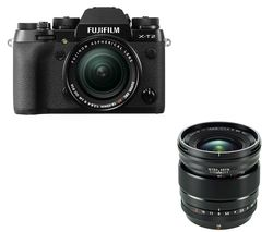 FUJIFILM X-T2 Mirrorless Camera with XF 18-55 mm f/2.8-4 R LM OIS Lens
