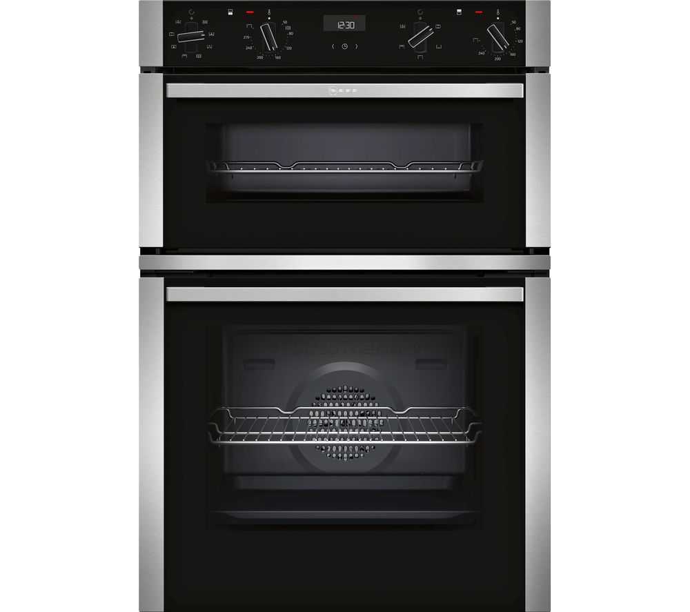 NEFF U1ACE2HN0B Electric Double Oven - Stainless Steel