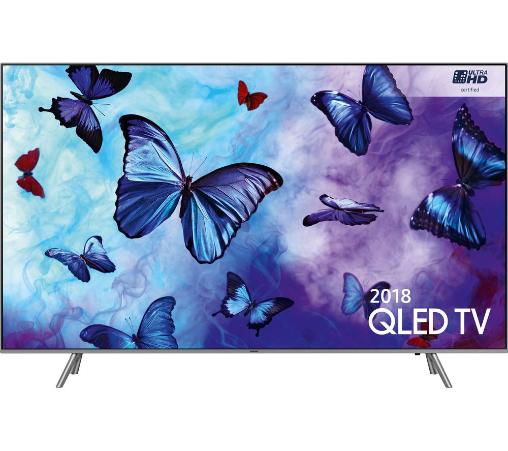 "Image of 49"" SAMSUNG QE49Q6FNATXXU Smart 4K Ultra HD HDR QLED TV, Black"