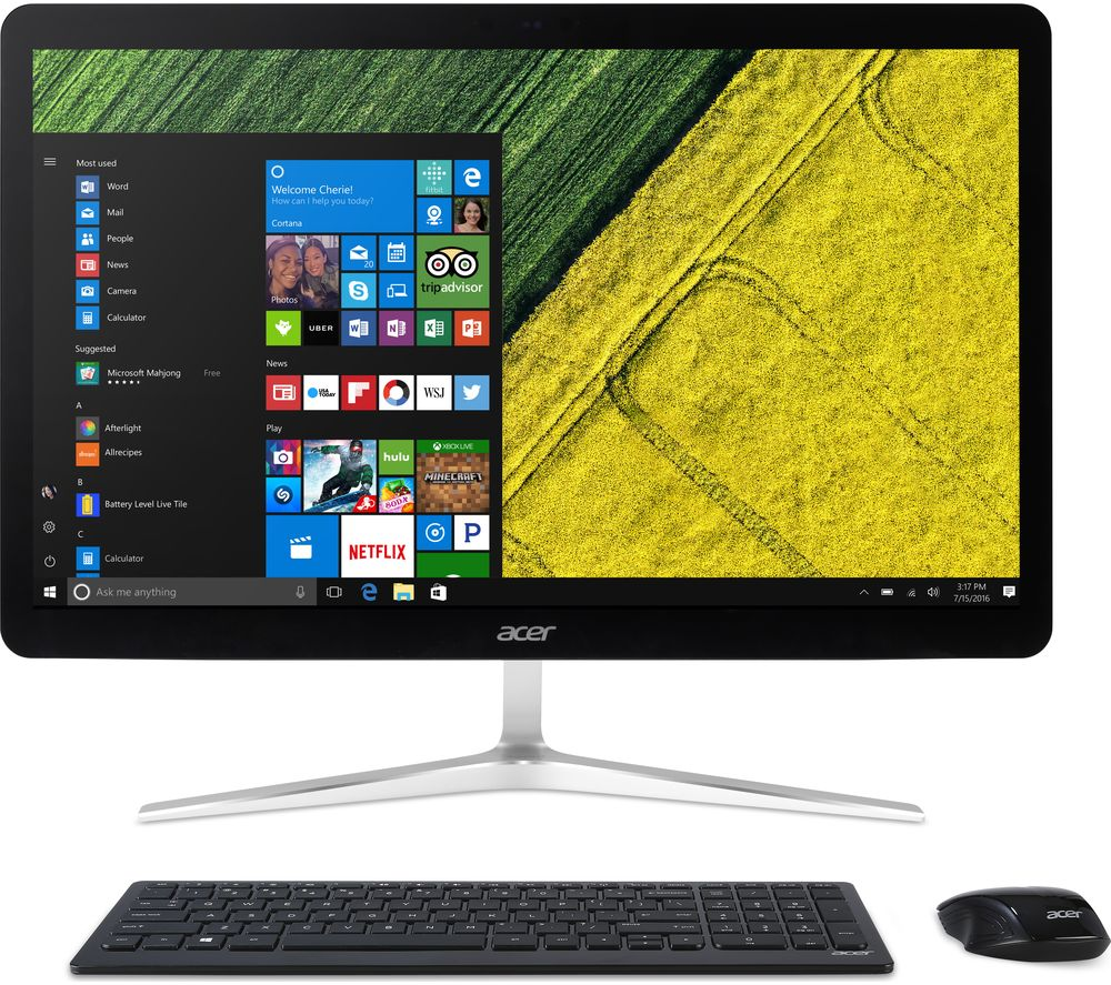 "ACER U27-885 27"" Intel® Core™ i5 All-in-One PC - 1 TB HDD, Silver"