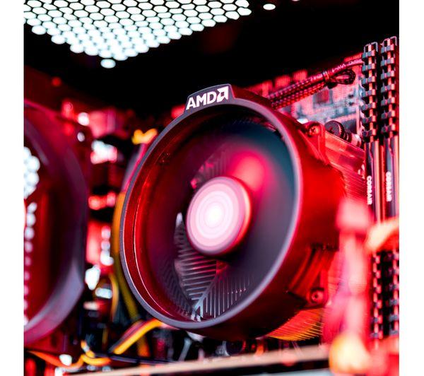 PC SPECIALIST Tornado R3 AMD Ryzen 3 GTX 1050 Gaming PC - 1 TB HDD