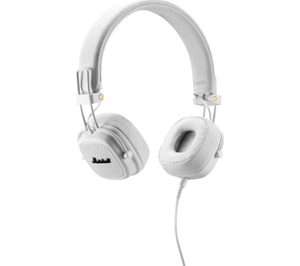 Image of Marshall Major III Headphones - White, White