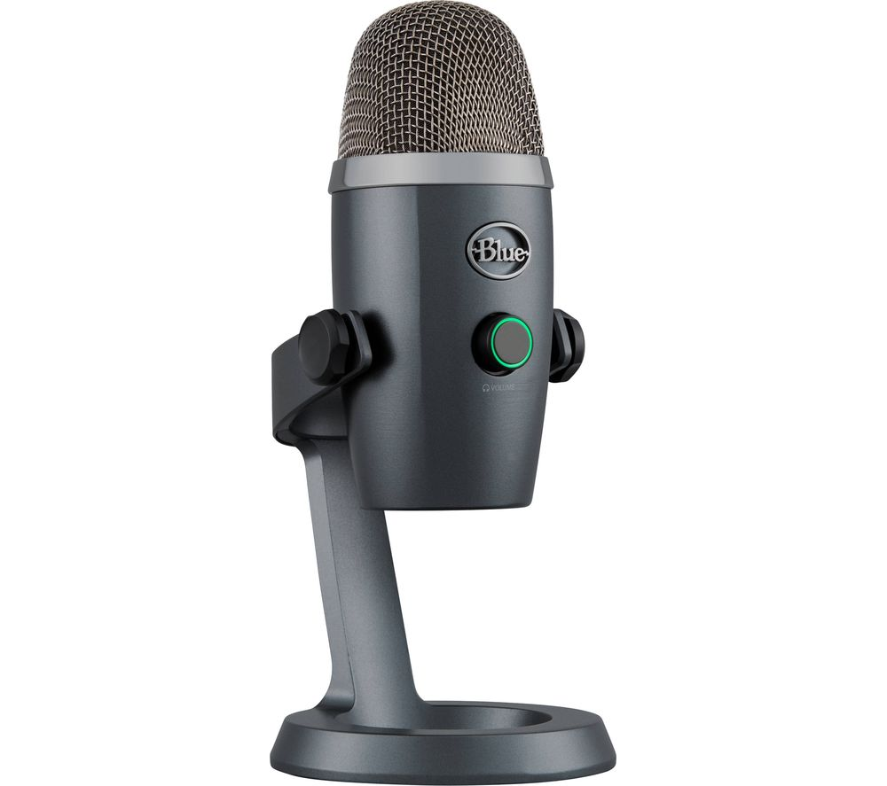 BLUE Yeti Nano USB Microphone - Grey