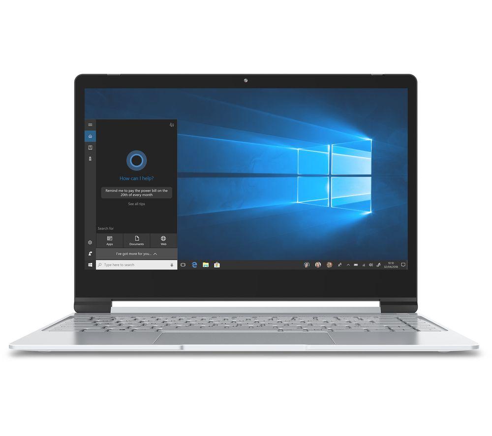 "Image of GEO Book3X 13.3"" Intel® Pentium Laptop - 32 GB eMMC, Silver, Silver"
