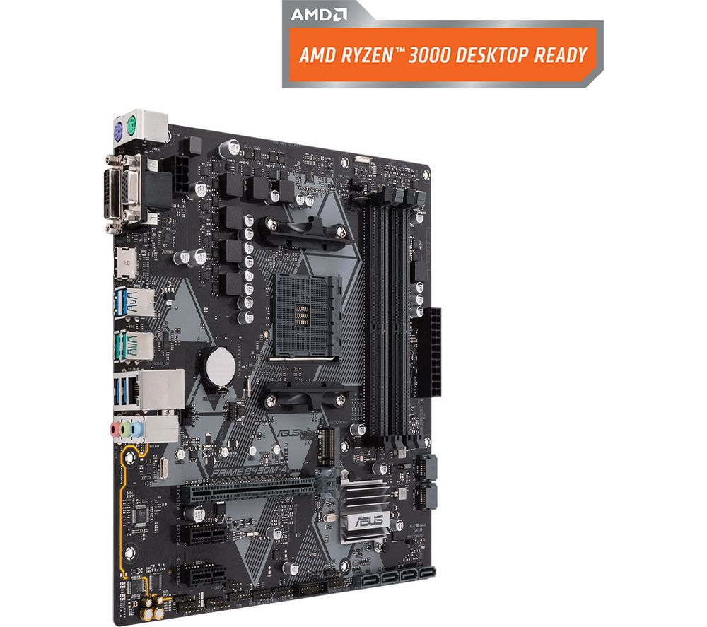 Image of ASUS PRIME B450M-A AM4 Motherboard