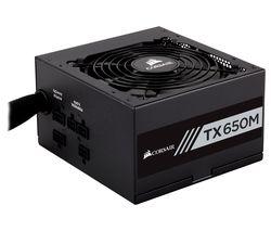 TX650M Semi-Modular ATX PSU - 650 W