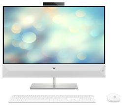 "HP Pavilion 27-xa0035 27"" All-in-One PC - Intel® Core™ i5, 2 TB HDD & 256 GB SSD, White"