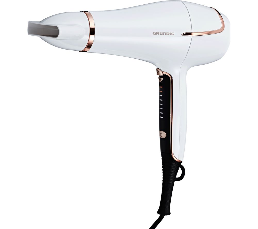 Touch Control HD7880 Hair Dryer - White