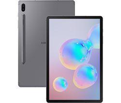 "SAMSUNG Galaxy Tab S6 10.5"" 4G Tablet - 256 GB, Mountain Grey"