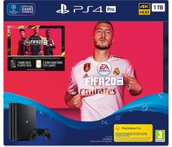 SONY PlayStation 4 Pro with FIFA 20 - 1 TB