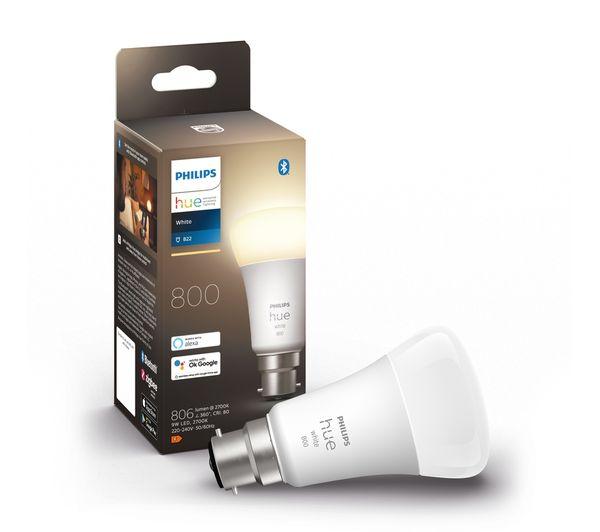 Image of PHILIPS HUE White Bluetooth LED Bulb - B22