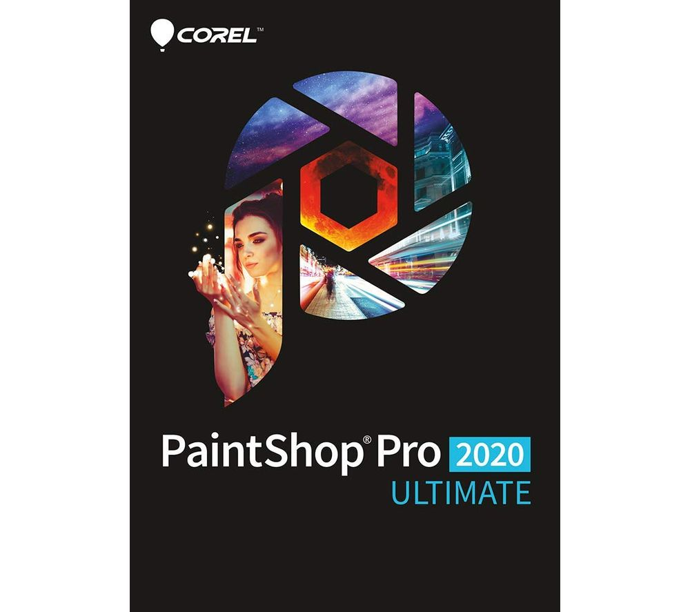 COREL PaintShop Pro 2020 Ultimate Mini Box