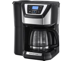 Chester 22000 Grind and Brew Bean to Cup Coffee Machine - Black & Silver