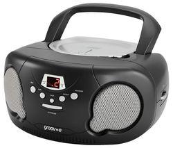Original Boombox GV-PS733 Portable FM/AM Boombox - Black