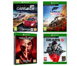 XBOX ONE Gears 5, Forza Horizon 4, Tekken 7 & Project Cars 2 Bundle