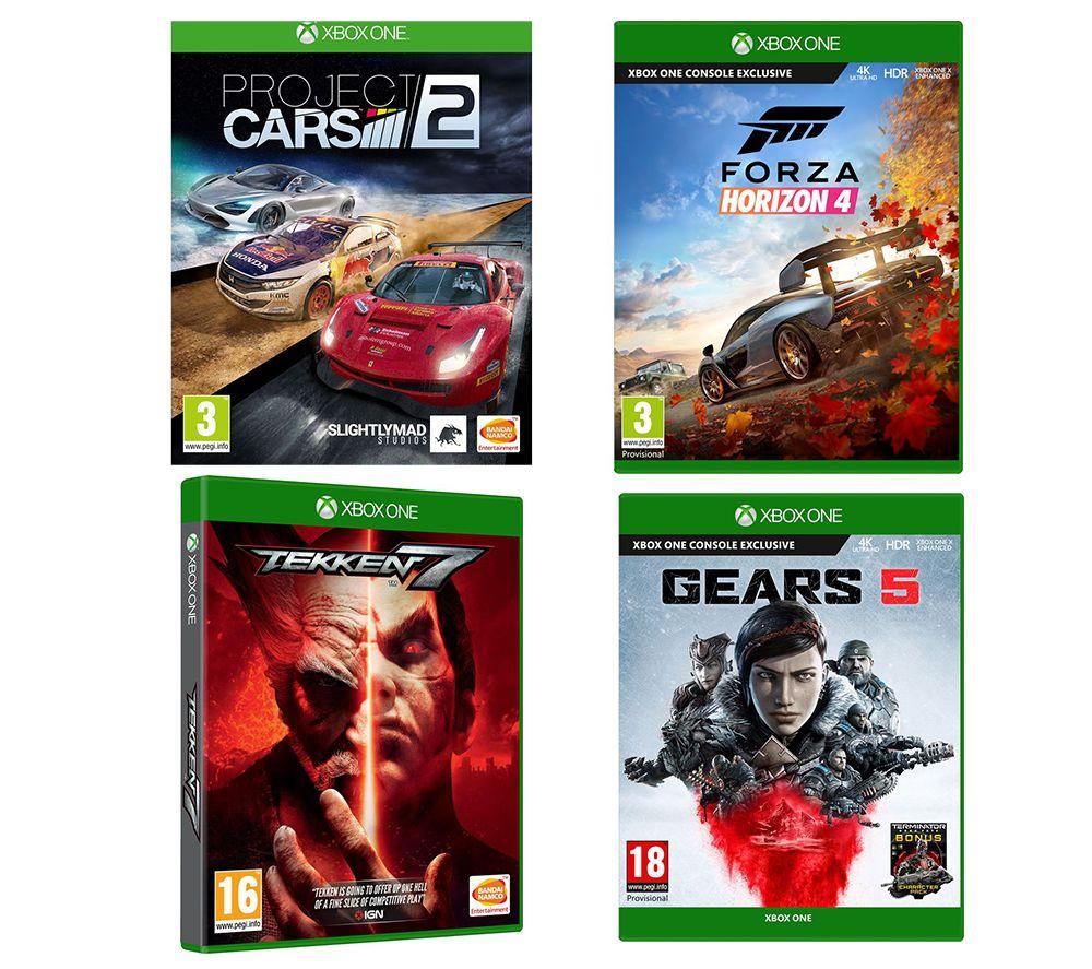 XBOX ONE Gears 5, Forza Horizon 4, Tekken 7 & Project Cars 2 Bundle