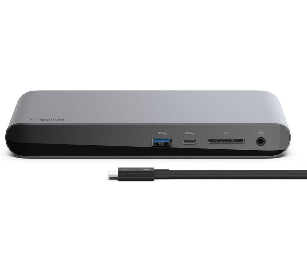 Image of BELKIN Thunderbolt 3 Dock Pro 12-port Multi Hub