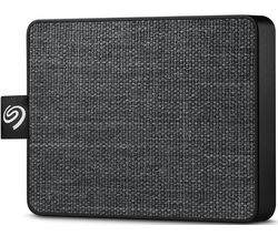 One Touch External SSD - 1 TB, Black