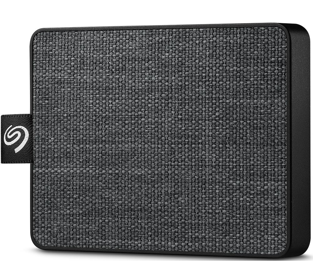 SEAGATE One Touch External SSD - 1 TB, Black